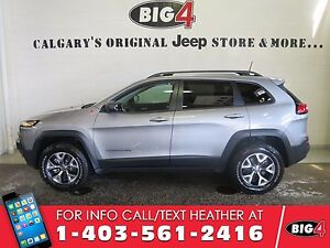 2016 Jeep Cherokee Trailhawk | Dual Sunroof | Leather | Loaded
