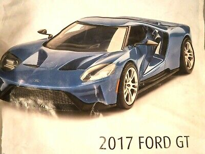 "1/24 Revell Ford GT 2017 Easy Click System # 07678 ""2018"" Bagged Kit NO Box"