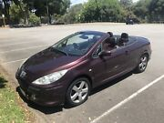 2006 Peugeot 307cc sports Convertible Registered Hail affected  Perth Perth City Area Preview