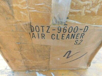 NOS 1970 1971 FORD P350 - P500 242 254 CID DIESEL ENGINE OIL BATH AIR CLEANER AS