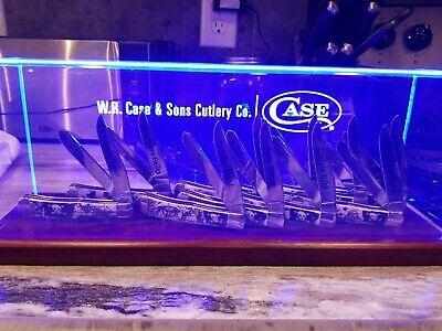 Case xx Natural Bone Trapper Pirate Knife Series 6254 and Display