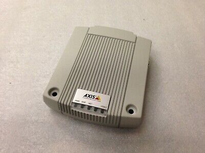 Axis P7701 0319-001-02 Video Encoder W Ac Adapter.