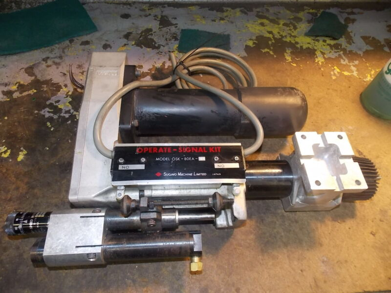 "SUGINO 1/4 HP SELFEEDER 1/8"" ELECTRIC DRILLING UNIT"