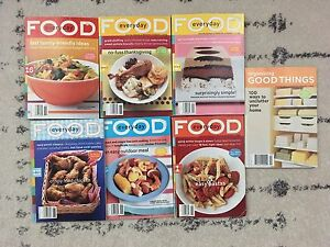 2004 Martha Stewart Food Mini Magazines LOT 2