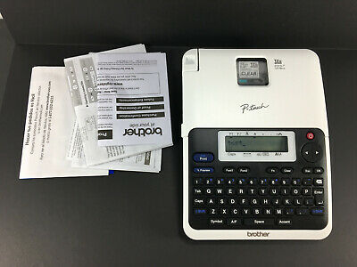 New White Brother P-touch Label Maker Pt-2040 Labeler Only