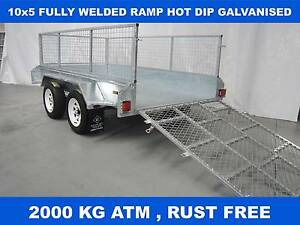 10x5 RAMP FULLY HOT DIP GALVANISED TRAILER Dandenong South Greater Dandenong Preview