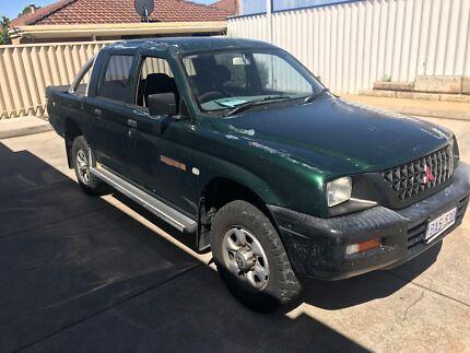 Mitsubishi Triton Auto DUAL CAB , Selling As TRADED