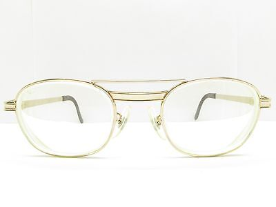 VINTAGE TITMUS AVIATOR Eyeglasses Eyewear FRAMES z87 gold 50-22-140 TV6 90055