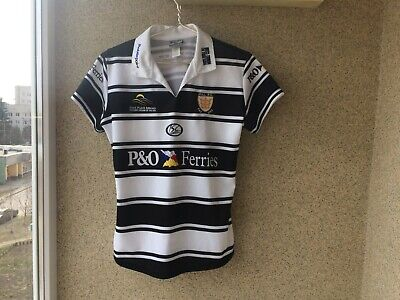 7070790a620 Hull FC Home Rugby Shirt 2009 2010 Jersey 16 ISC England Camiseta