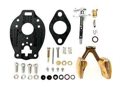 Allis Chalmers Wc Wd Marvel Schebler Tsx159 422 Tractor Carburetor Kit W Float