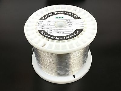 Pure Nickel Wire 30 Gauge 8.69 Lb 28833 Ft Non Resistance Awg Ni200 Nickel 200