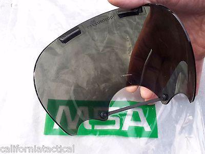 Msa Tintedsmoke Lens Outsert -for Millennium Cbrn Gas Mask Size Ml 10008908
