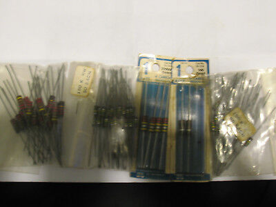 Vintage Lot Of Carbon Resistors