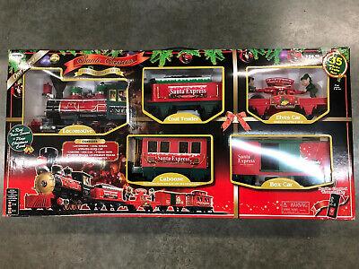 SANTA EXPRESS Train Set Christmas EZTEC 35 Piece In box from 2012
