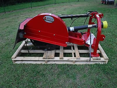 3 Point Tractor Attachment - Shaver Sc-50 Pto Driven Stump Grinder - Ship 299