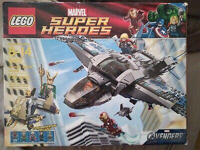 The Avengers Marvel Super Heroes Lego 6869 QUINJET AERIAL BATTLE Factory Sealed