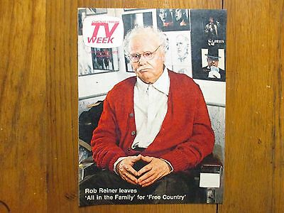 June 25  1978 Chicago Tribune Tv Week Rob Reiner Free Country All In The Family