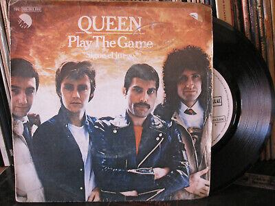 """Queen – Play the game Vinyl 7"""" Single 1980 Spain, usado segunda mano  Ribeira"""