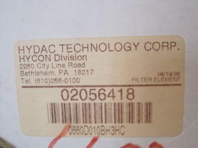 New Hydac 02056418 Hydraulic Filter