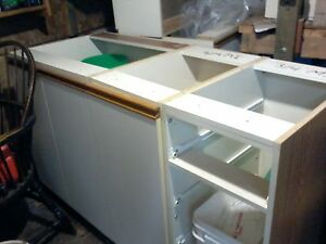 kitchen cupboards, uppers and lowers