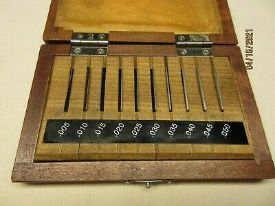 10 Piece Mitutoyo Thin Gage Block Set 516-927 Grade 3