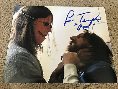 Lew Temple Autographed 8x10 Photo The Walking Dead Axel Holloween PROOF