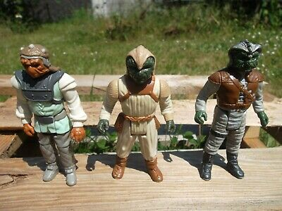 Lot Esquiff / Star Wars vintage Kenner ROTJ Action figure 3 Figurines 83*