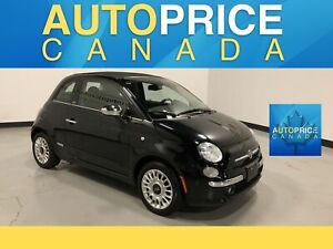 2015 Fiat 500C Lounge LEATHER|AUTO|CONVERTIBLE