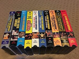 Extremely Rare - UFC 1-10 VHS Tapes
