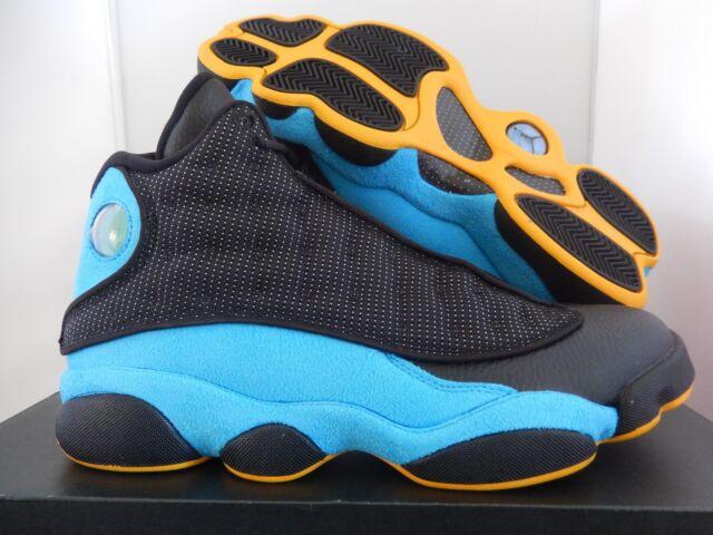 new styles fac13 335fa NIKE AIR JORDAN 13 RETRO CP PE CHRIS PAUL BLACK-ORION BLUE SZ 10
