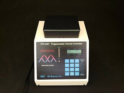 Mj Research Ptc-100 Thermal Cycler 24-well Slide Warmer Block - Clean Tested