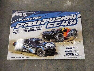 *NEW* Proline PRO-Fusion SC 4x4 1/10 4WD Short Course Truck Kit PRO400600