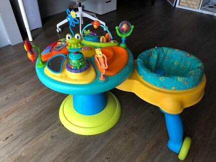 Activity table/walker/chair in one!!   Bright Starts Around We Go