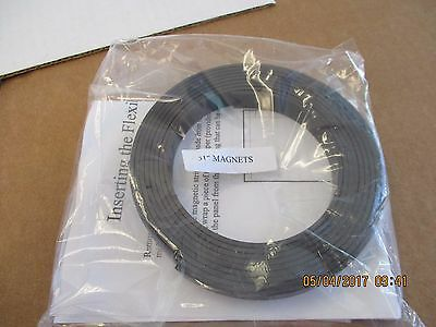 51 Each-rubber Flexible Magnetic Strip Non Adhesive-multi Purpose
