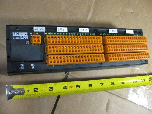 Beckhoff M-1400 Input Output Interface Module