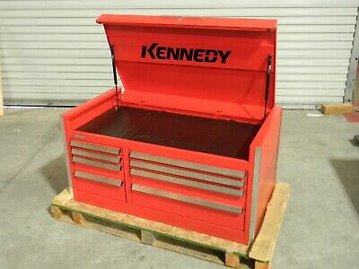 Kennedy Benchmark Top Chest Tool Box 8 Drawer 46 X 24 X 22 Steel Red 46000r
