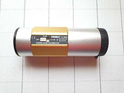 Tenma Sound Level Meter Calibrator 94db - 114db