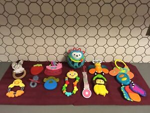 Assorted Baby Toys (13 items)