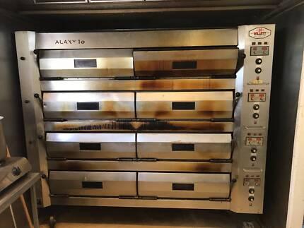 Commercial Deck Type Bakery Oven Willett Brand