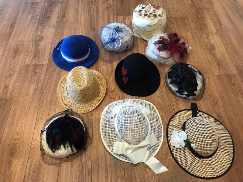 10 Vintage Ladies Hats
