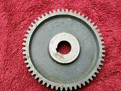 Nice South Bend Heavy 10 Lathe 56 Tooth Gear 58 Bore 3-58 Diameter