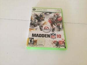 Xbox 360 madden nfl 10 game for $5