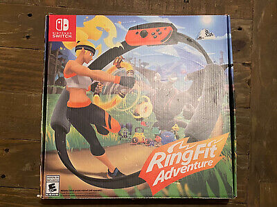 Ring Fit Adventure Nintendo Switch Edition Exercise Fitness Game
