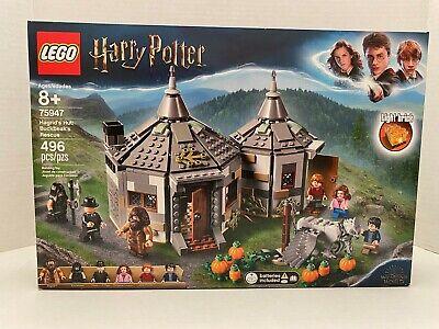 LEGO Harry Potter Hagrid's Hut: Buckbeak's Rescue Set (75947) BRAND NEW IN BOX
