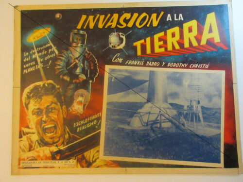 "THE PHANTOM EMPIRE (1935 movie) Mexican Movie Lobby Card  ca. 13"" x 17"" Vintage"