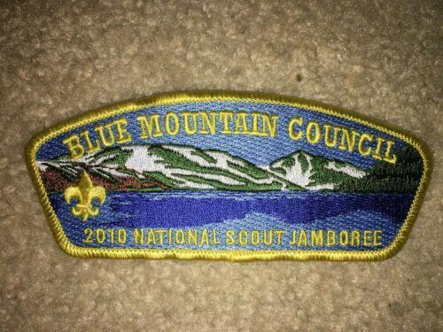 Boy Scout Blue Mountain Washington #3 Council 2010 National Jamboree JSP Patch
