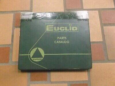 Euclid 72-40 L30 Front End Wheel Loader Parts Catalog Manual