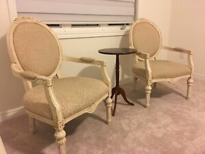 A set of two of armchairs