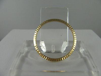 "C489 ⭐⭐ Rolex Medium Bezel "" 18 Carat /750 Gold ⭐⭐ Top Condition"