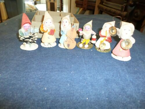 Lot 6 Vintage Elf or Gnome Band in box Japan
